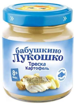 Пюре Бабушкино Лукошко Треска с картофелем с 8 мес. 100 г