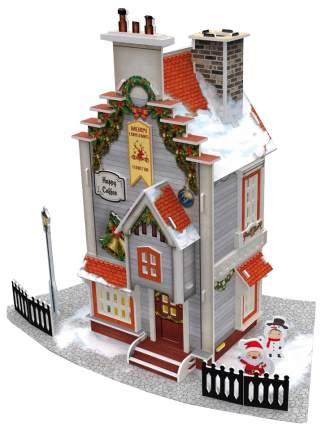 Объемные 3D-пазлы CubicFun Рождественский коттедж P802h