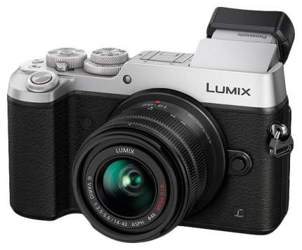 Фотоаппарат системный Panasonic Lumix DMC-GX8KEE Silver/Black