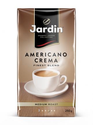 Кофе молотый Jardin americano crema 250 г