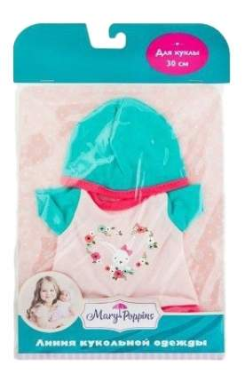 Боди с шапочкой 452118 для кукол 30 см Mary Poppins
