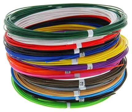 Набор пластика для 3D ручек: ABS-15 по 10 метров 15 цветов в коробке