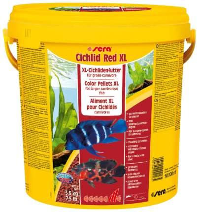 Корм для рыб Sera CICHLID RED XL, гранулы, 10 л