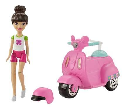 Кукла Barbie скутер и кукла