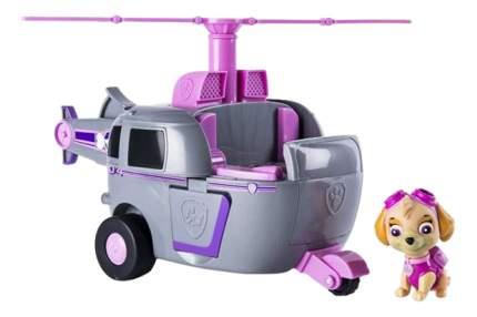 Игровой набор Щенячий патруль Paw Patrol Машина-трансформер розовая