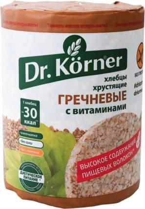 Хлебцы хрустящие Dr.Kоrner гречневые с витаминами 100 г