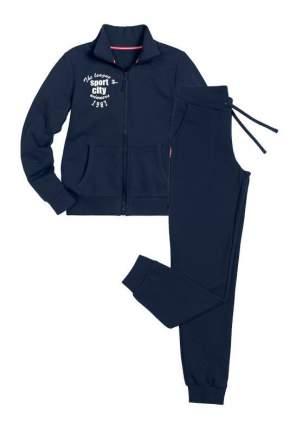 Спортивный костюм Pelican Sport City трикотажный синий 152 размер
