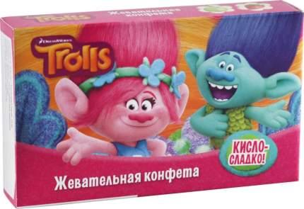 Конфеты жевательные Trolls со вкусом клубники и яблока 22 г