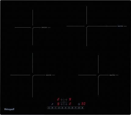 Встраиваемая варочная панель индукционная Weissgauff HI 641 BS Black