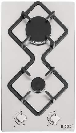 Встраиваемая варочная панель газовая RICCI RGN-KA 2002 IX Silver