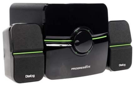 Колонки компьютерные Dialog Progressive AP-203, Black
