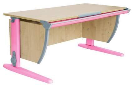 Парта Дэми СУТ 15-01Д 120 см С задней и двухъярусной задней приставками Клен Розовый