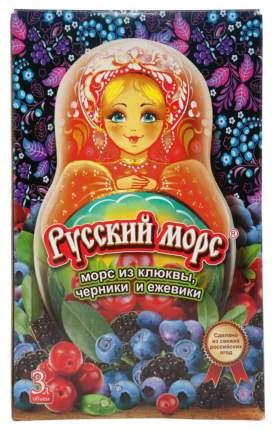 Морс из клюквы, черники и ежевики Русский морс 3 л