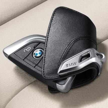 Кожаный футляр для ключей со стальным зажимом для BMW X5 82292344033 F15