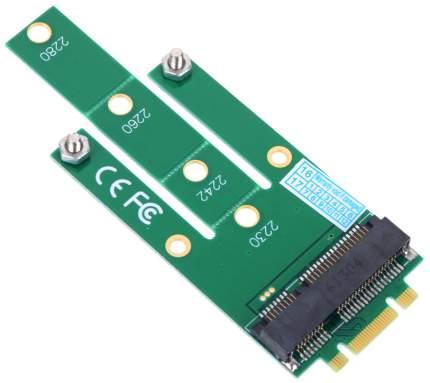 Переходник ORIENT C293S SSD NGFF(M,2) - mSATA, для подключения mSATA диска к разъему NGFF,