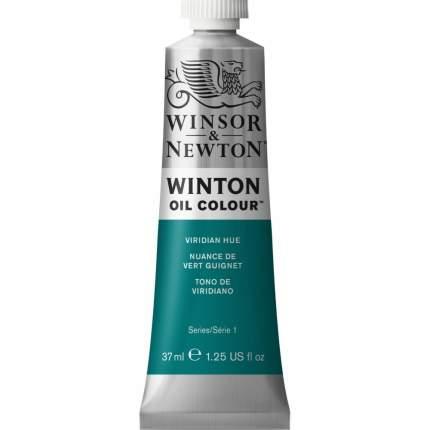 Масляная краска Winsor&Newton Winton виридиан фтало 37 мл