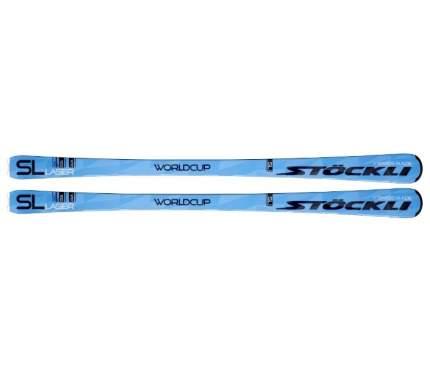 Горные лыжи Stockli Laser SL + MC 12 2019, black/chrome, 170 см