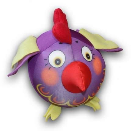 Игрушка-антистресс СПИ Петух-колобок фиолетовый
