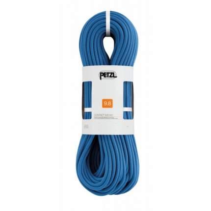 Веревка динамическая Petzl Contact 9,8 мм, синяя, 70 м