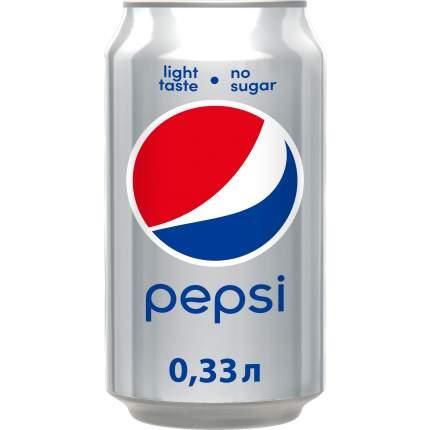 Напиток газированный Pepsi лайт жестяная банка 0.33 л