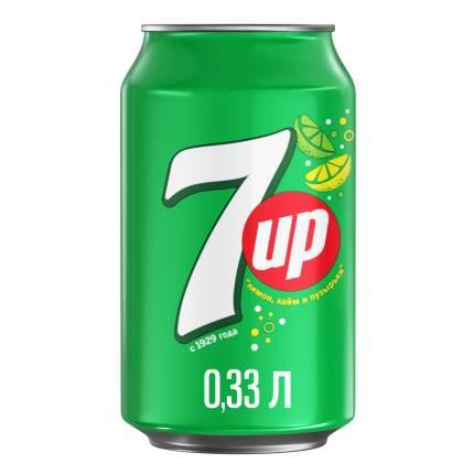 Напиток 7Up лимон и лайм жестяная банка 0.33 л