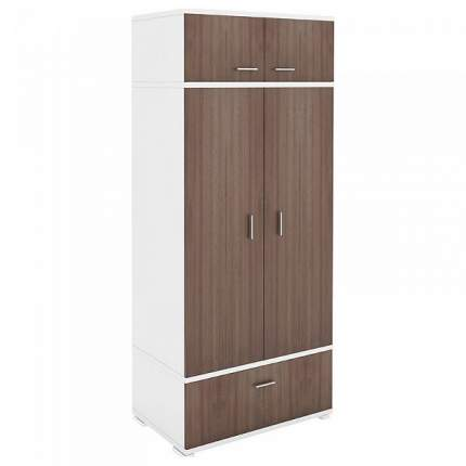 Платяной шкаф Мэрдэс Домино КС-20 MER_KS-20_BESH 90x57,1x213, белый жемчуг