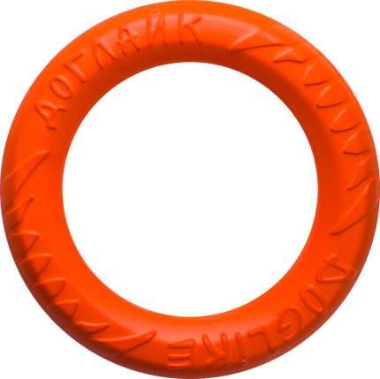 Апорт для собак DOGLIKE Кольцо 8-мигранное DL миниатюрное, оранжевый, 16.5 см
