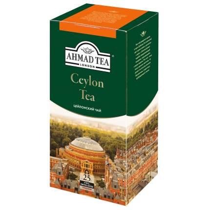 Чай черный Ahmad Tea ceylon tea 25 пакетиков