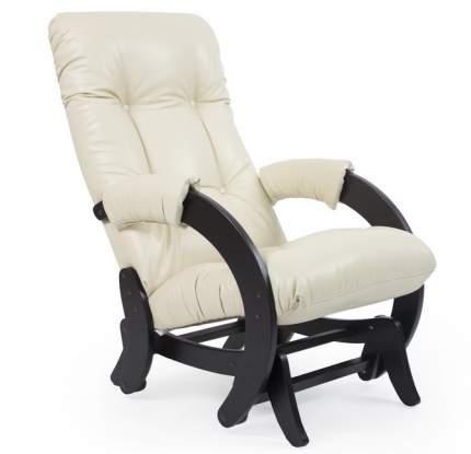 Кресло-качалка Мебель Импэкс Модель 68, венге/белый