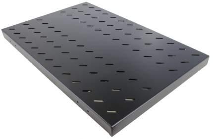 """Полка 19"""" повышенной грузоподъемности, чёрная L=750 мм, NT SSt2-750 B"""
