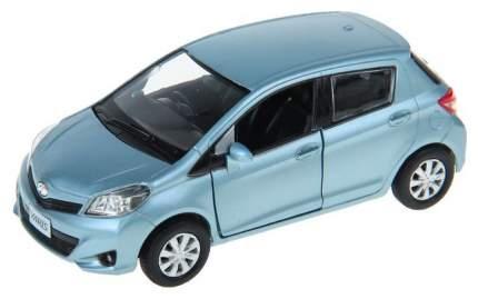 Машина металлическая RMZ City 1:32 TOYOTA YARIS, Цвет голубой