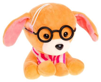 Мягкая игрушка Sima-Land Собака сидит в очках 3721216 в ассортименте