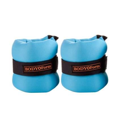 Утяжелители Body Form BF-WUN02 2 x 0,3 кг, light blue