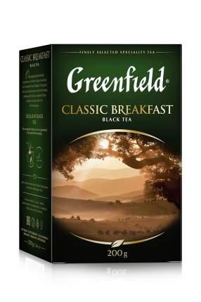 Чай черный Greenfield листовой classic breakfast 200 г