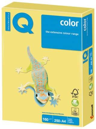 Бумага IQ Color, А4, 160 г/м2, 250 л, ZG34, умеренно-интенсив (тренд) Лимонно-желтый...