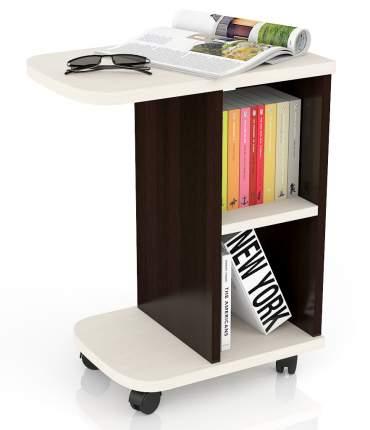 Журнальный столик Мебельный Двор МД-СЖ-3 47х30х60 см, венге/дуб