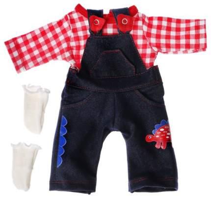 Одежда для кукол и пупсов 38 - 42 см л Комбинезон с рубашкой и носочками Colibri
