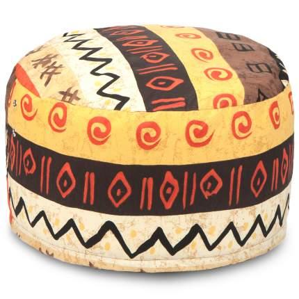 Кресло-мешок ПуффБери Африкан, размер S, жаккард, разноцветный