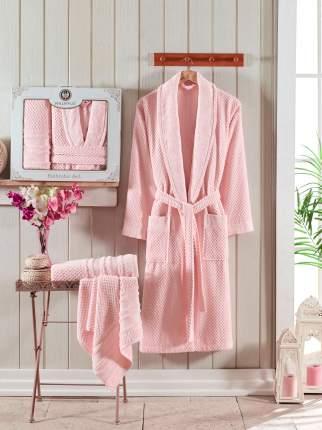 Банный комплект с халатом Philippus Zenit Цвет: Светло-Розовый (XL)