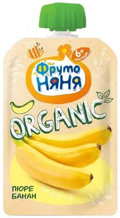Пюре ФрутоНяня Organic банан 90 г