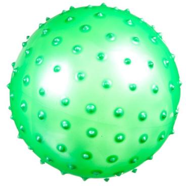 Мяч массажный Shenzhen Toys, салатовый, 13 см