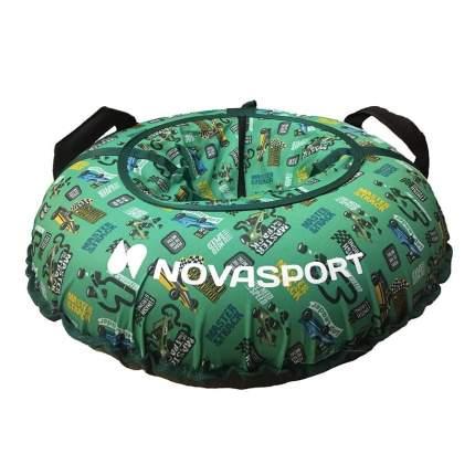 Санки надувные 80 см NovaSport гоночные машинки без камеры