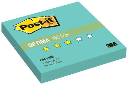 Блок самоклеящийся Post-it Optima 127321 Бирюзовый 100 шт