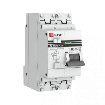 Дифавтоматы EKF DA32-25-300S-pro