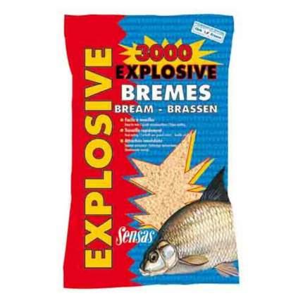 Прикормка Sensas 3000 Explosive Bremes для ловли леща, 1 кг