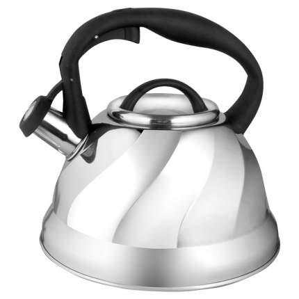 Чайник для плиты WEBBER BE-0525 нержавейка, 3л, капсулированное дно (12)
