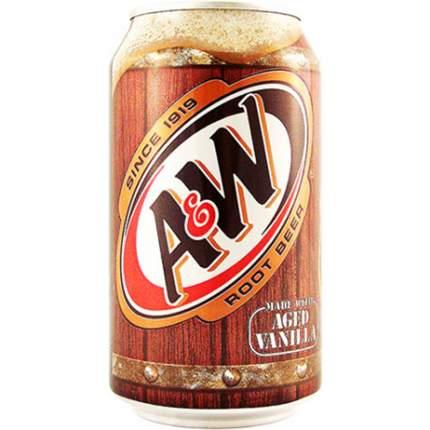 Напиток A&W root beer жестяная банка 0.36 л