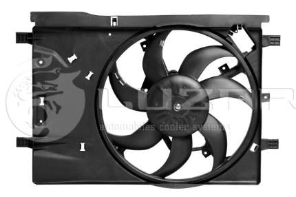 Вентилятор радиатора Luzar LFK2112
