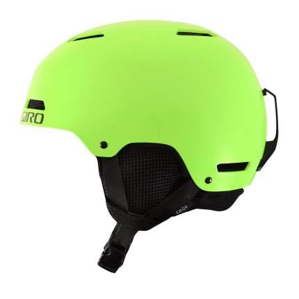 Горнолыжный шлем детский Giro Crue 2018, светло-зеленый, M