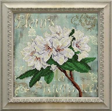 Набор для вышивания ювелирным бисером Краса и творчество 11115 Цветы 15,4х15,4 см